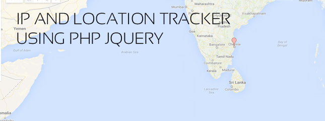 Enquiry Page with IP and Location Tracker Using PHP jQuery